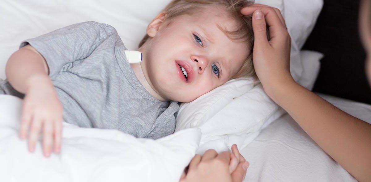 A sick child